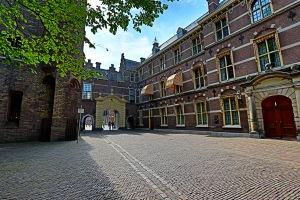 The beautiful Binnenhof building in The Hague, Holland.