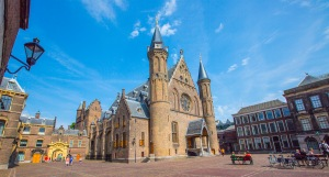 The beautiful Church in the Binnenhof - The Hague, Holland.