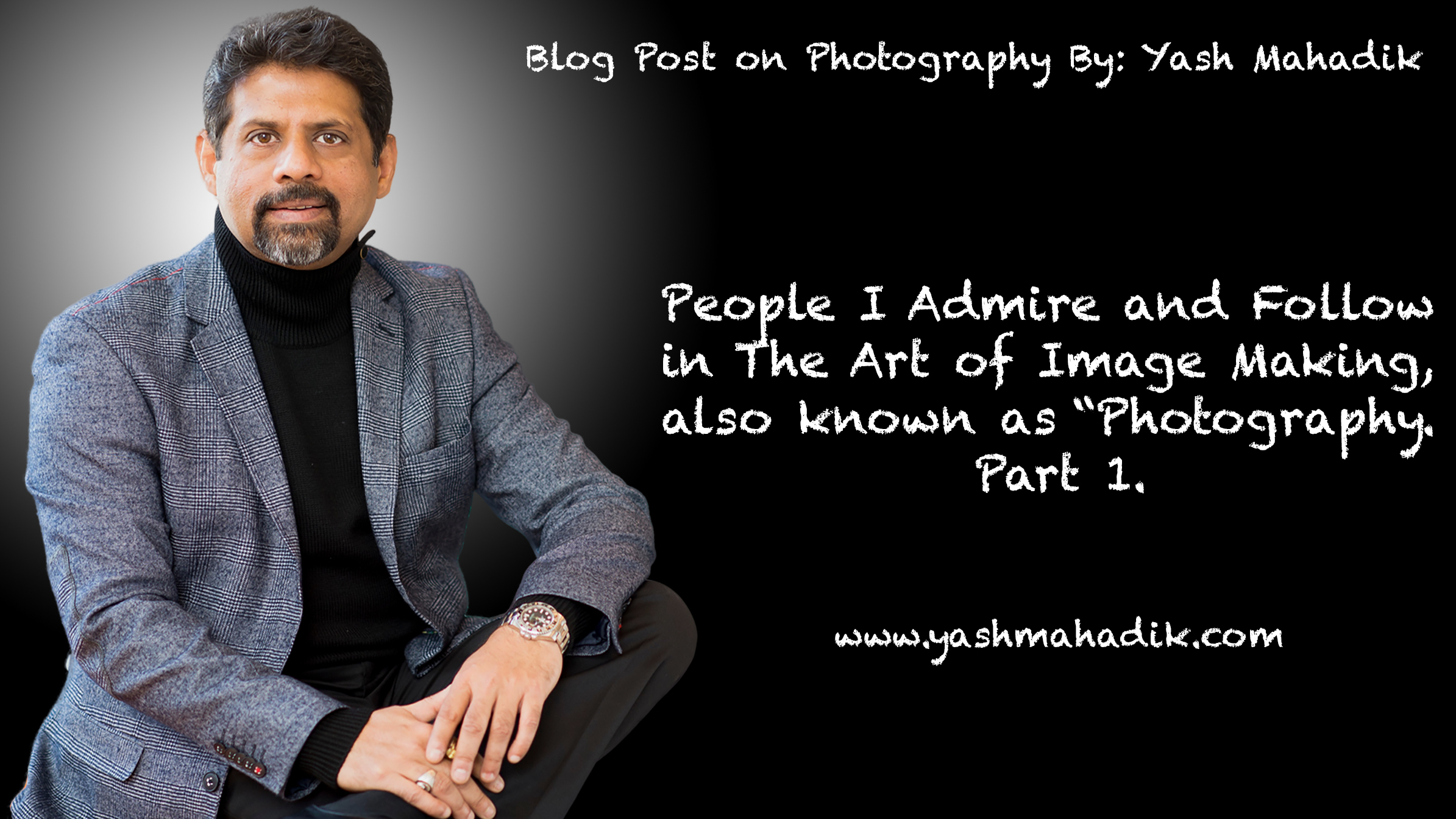 Yash Mahadik Blog Template